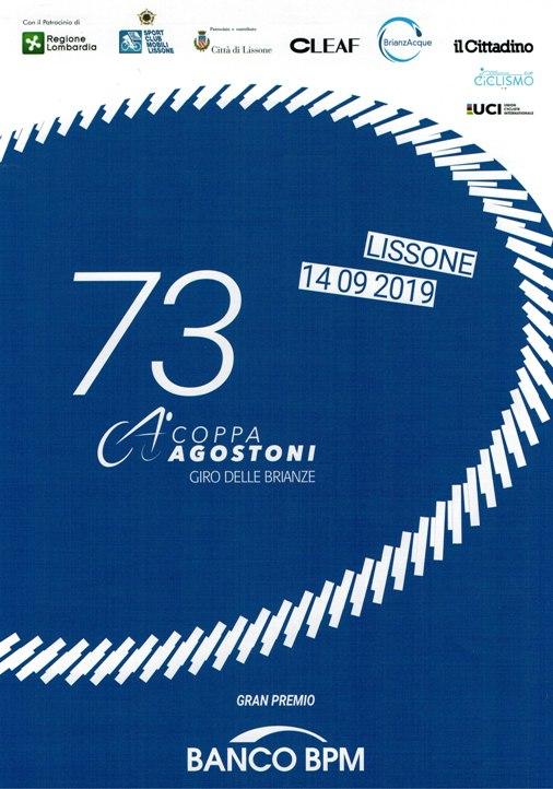 16.07.2019 – Lissone (Monza&Brianza) – Professionisti : Presentata la73° Coppa Ugo Agostoni-Giro delle Brianze – Fotoservizio di Berry