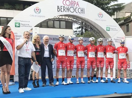 15.09.2019 – Legnano (Milano) – Rovinosa caduta coinvolge Manuel Belletti a 500 metri dal traguardo della Bernocchi