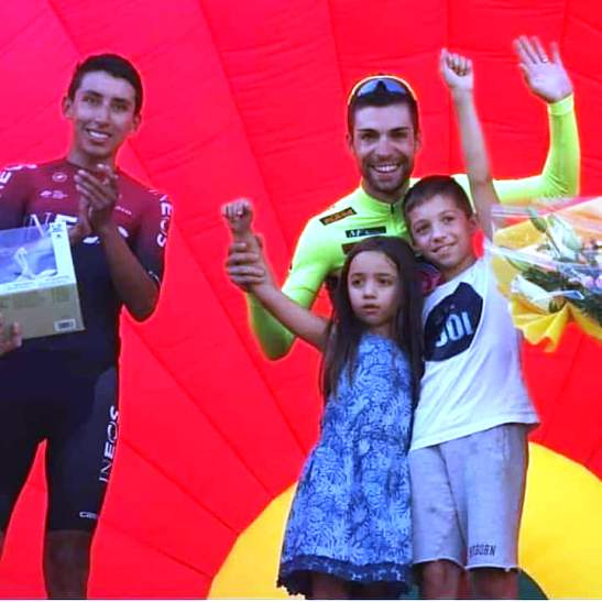 """18.09.2019 – Pontedera (Pisa) – Professionisti : Giro della Toscana """"Memorial Alfredo Martini"""" al super Tricolore Giovanni Visconti"""