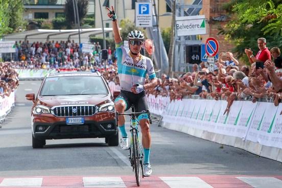 """19.09.2019 – Peccioli (Pisa) – La 67° Coppa Sabatini-Gran Premio Città di Peccioli incorona Alexey Lutsenko """"Re della Val D'Era"""""""