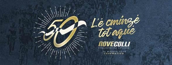 08.11.2019 – Cesenatico (Forlì-Cesena) – Il motto della Nove Colli 50° edizione