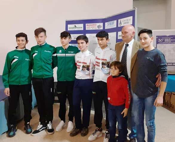 09.11.2019 – Empoli (Firenze) – Ciclismo Giovanile : La festa delle società giovanili fiorentine