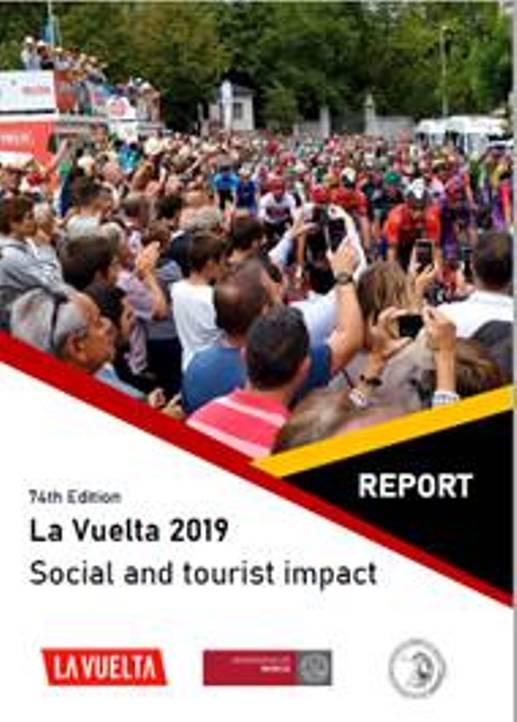 """07.04.2020 – Madrid (Spagna) – Università di Murcia : Studio impatto turistico della """"Vuelta"""", il 90% degli intervistati dice che La Vuelta contribuiisce moltissimo allo sviluppo turistico"""