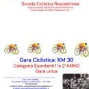 26.05.2017 – Rescaldina (Milano) – Domenica 28 Maggio a Rescalda di Rescaldina Esordienti : GP Rescaldese Carlo Raimondi a.m. gara unica