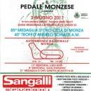 28.05.2017 – Monza – Ciclismo Elite-U23 all'Autodromo di Monza : 85° Medaglia d'Oro Città di Monza-40° Trofeo Angelo Schiatti
