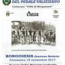 14.11.2017 – Borgosesia (Vercelli) – Domenica 19.11.2017 : 7° prova del Trofeo Piemonte-Lombardia – Organizza il Pedale Valsesiano