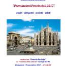 16.11.2017 – Canegrate (Milano) – Premiazioni annuali CP-FCI Milano, Atleti, Dirigenti, collaboratori etc.