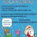 07.12.2017 – Robecco sul Naviglio (Milano) – Andrea Noè in prima fila nella Pedalata di Natale