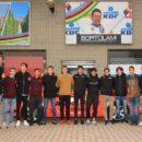 """10.01.2018 - Castano Primo (Milano) - La corazzata Juniores nr. 1 in Italia, """"GB Junior-CC Cremonese-Gruppo Arvedi"""" si presenta"""