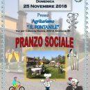 08.11.2018 - Sedriano (Milano) - Domenica 18.11.2018 Pranzo sociale dell'Equipe Corbettese