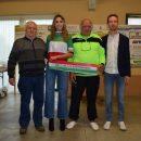 09.11.2018 - Borgomanero (Novara) - Il Bici Club 2000 del Presidente Briolotti per la prima volta ai nastri di partenza con una squadra Under 23 a partire dalla stagione agonistica 2019