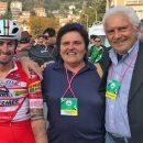 """26.10.2018 - Gravedona (Como) - Occhiali e Caschi Salice per il Team Tricolore d'Italia """"Androni Giocattoli-Sidermec"""""""