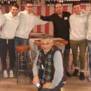 """18.02.2019 - Pasturana (Alessandria) - Overall Cycling Team ospiti del Ristorante """"La Cucina di Pasturana"""" di Giuseppe Di Marco"""