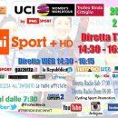 23.3.2019 - Cittiglio (Varese) - Da Taino a Cittiglio sfila il ciclismo femminile mondiale