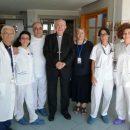 """21.07.2019 - Palidoro (Roma) - Ospedale Pediatrico """"Bambin Gesù"""" : Visita del Card. Agostino Villani"""
